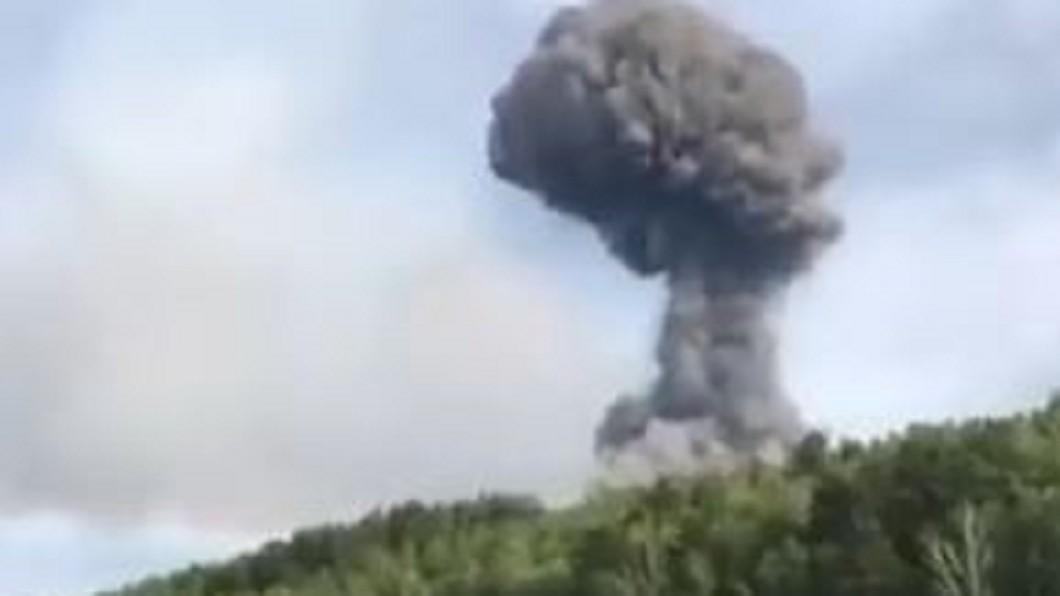 圖/翻攝自  Lois Sayer youtube 俄羅斯火箭引擎測試爆炸 引發核災恐慌