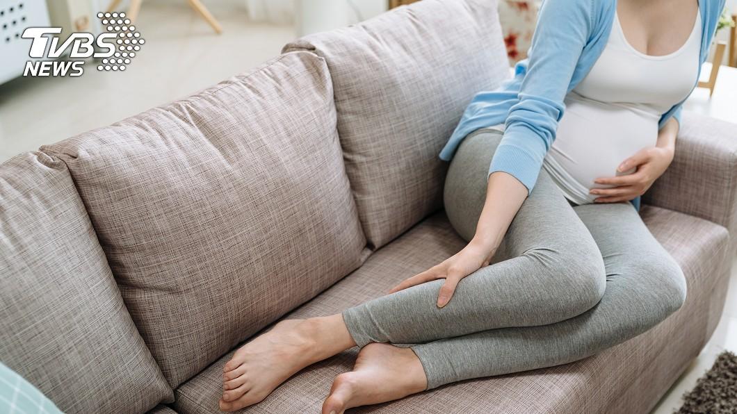圖/TVBS示意圖 孕婦腿長壘球大噁瘤 10年後變「小尾巴」連坐下都難
