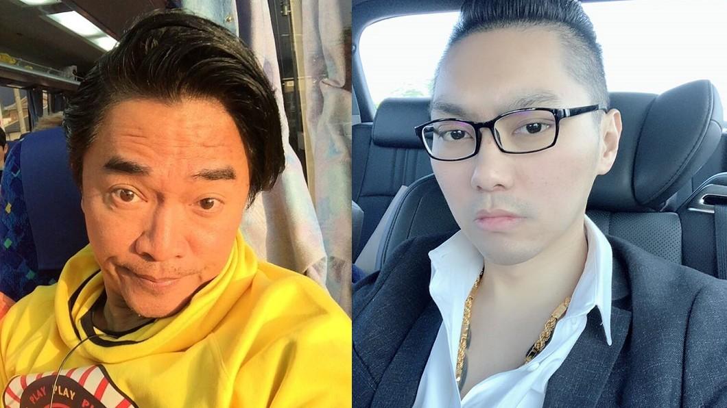 連千毅(右)不滿吳宗憲(左)看不起網紅。圖/(左)翻攝自吳宗憲Jacky Wu臉書、(右)翻攝自連千毅臉書 吳宗憲酸網紅沒素養 連千毅嗆:你30歲還沒我有錢