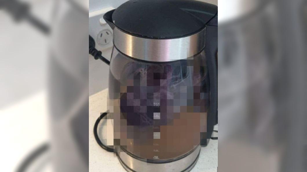 圖/翻攝自Reddit 渡假遇「大姨媽」! 她竟拿飯店快煮壺洗「沾血內褲」