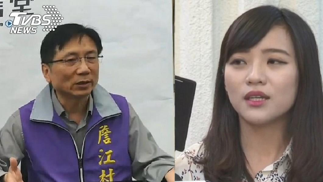 國民黨議員詹江村(左)、時代力量議員黃捷(右)。圖/TVBS資料照 挺募資送香港遭告違反「國安法」 黃捷深夜回應了