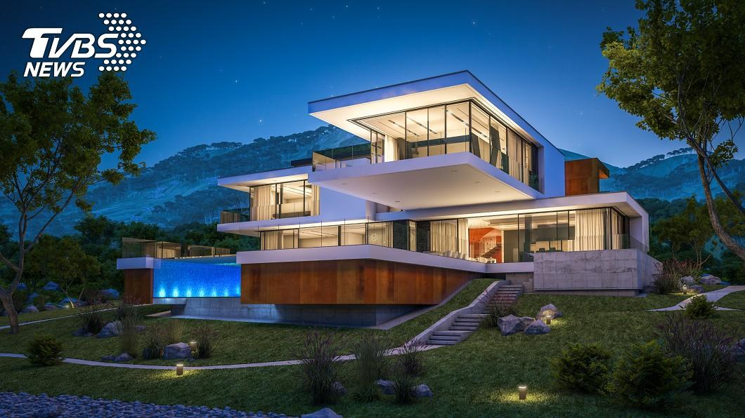 山上有很多豪宅。示意圖/TVBS 不方便?山上房子都誰在買 網曝背後優點