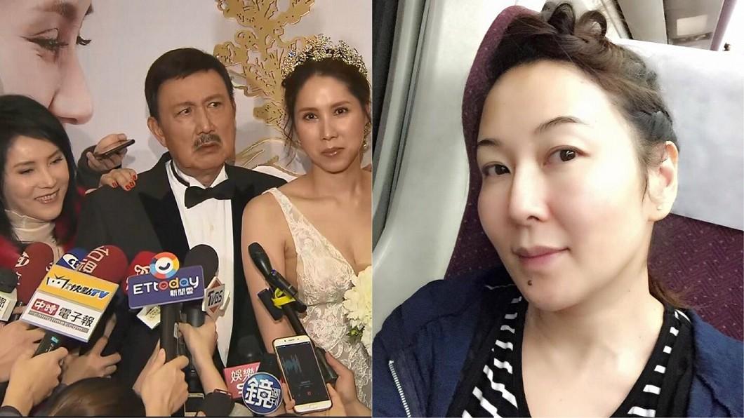 圖/TVBS、翻攝自張秀卿臉書 李亞萍忍半年發飆!怒控張秀卿喝醉大鬧女兒婚宴
