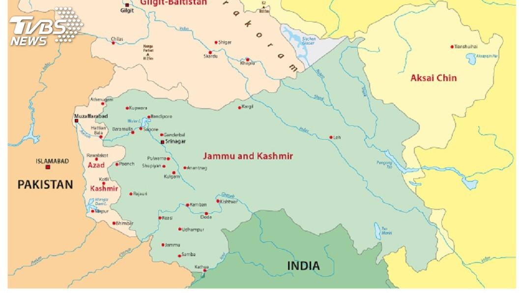 示意圖/TVBS 克什米爾爭議 巴基斯坦要求安理會召開臨時會議