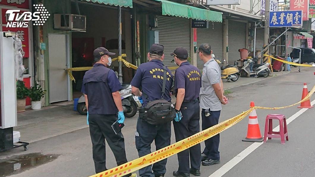 圖/中央社 台南仁德槍擊案追凶 6人到案3人在逃