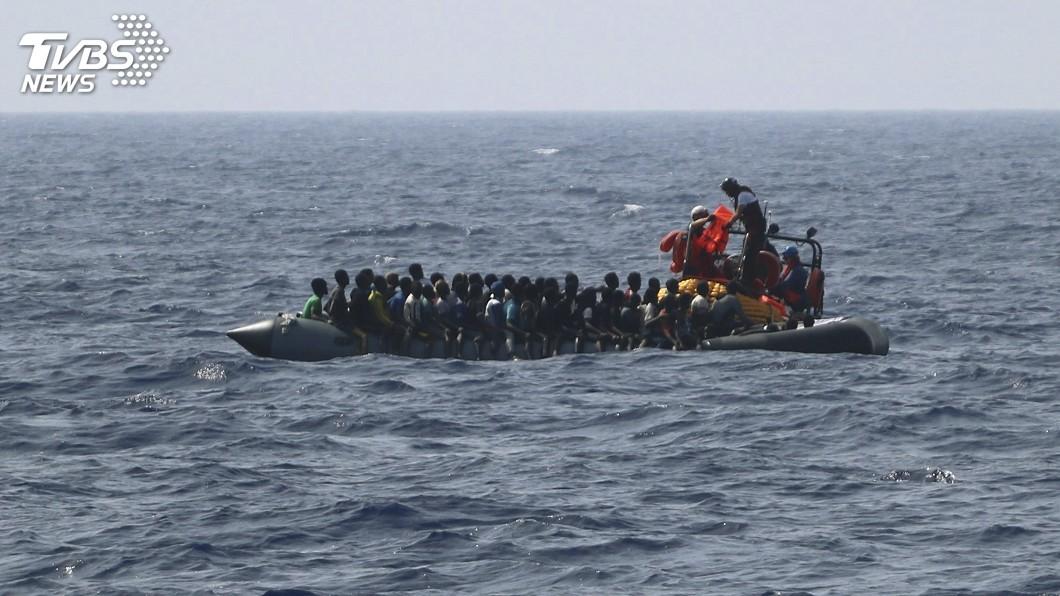圖/達志影像美聯社 逃離家暴又陷牢籠 她寧冒死渡海也不回難民營