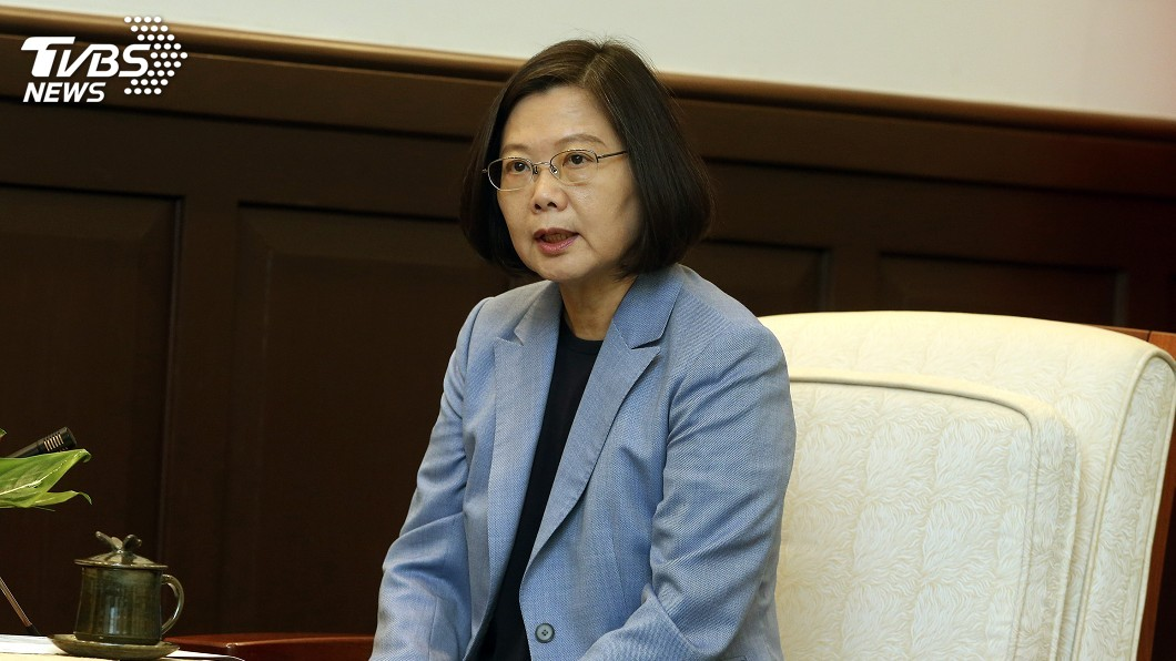 圖/中央社 港社運人士遭捕 蔡總統:香港情勢令人擔心