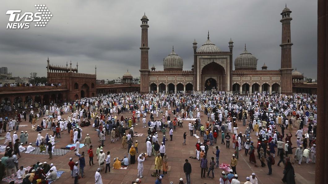 圖/達志影像美聯社 印度克什米爾嚴格軍管 伊斯蘭教忠孝節冷清