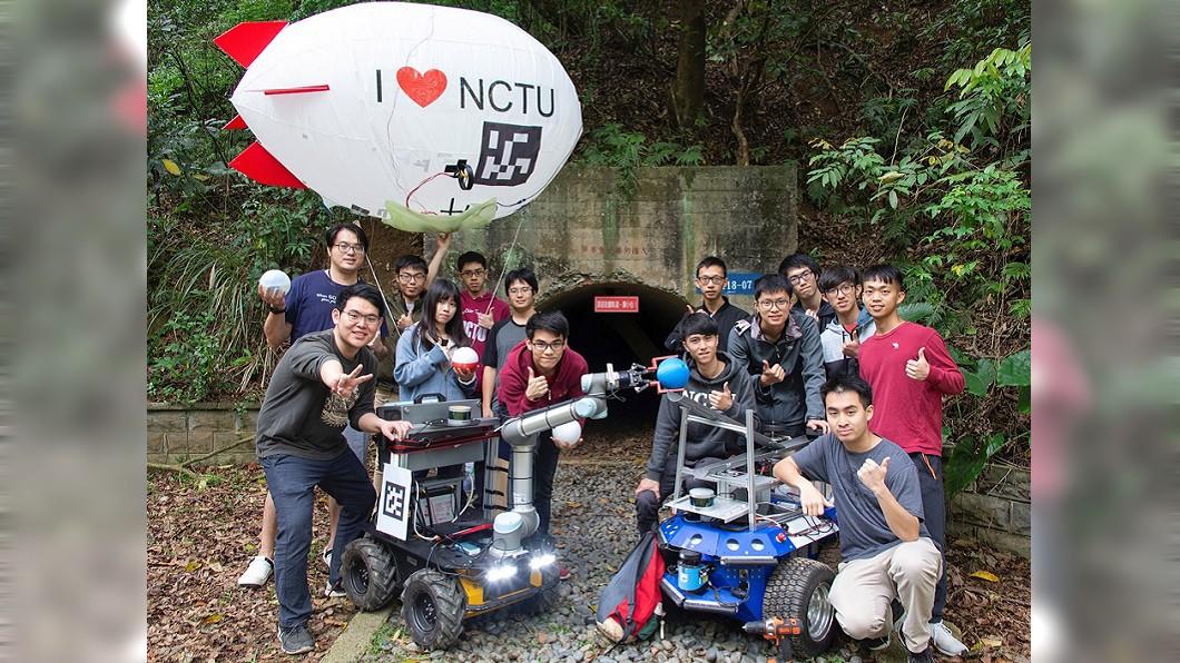 圖/交大提供 交大參加DARPA機器人競賽 挑戰全球頂尖團隊