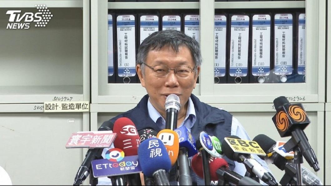 柯文哲表態自己心目中的總統首選是郭台銘,提到韓國瑜認為他把國民黨毀了。(圖/TVBS)