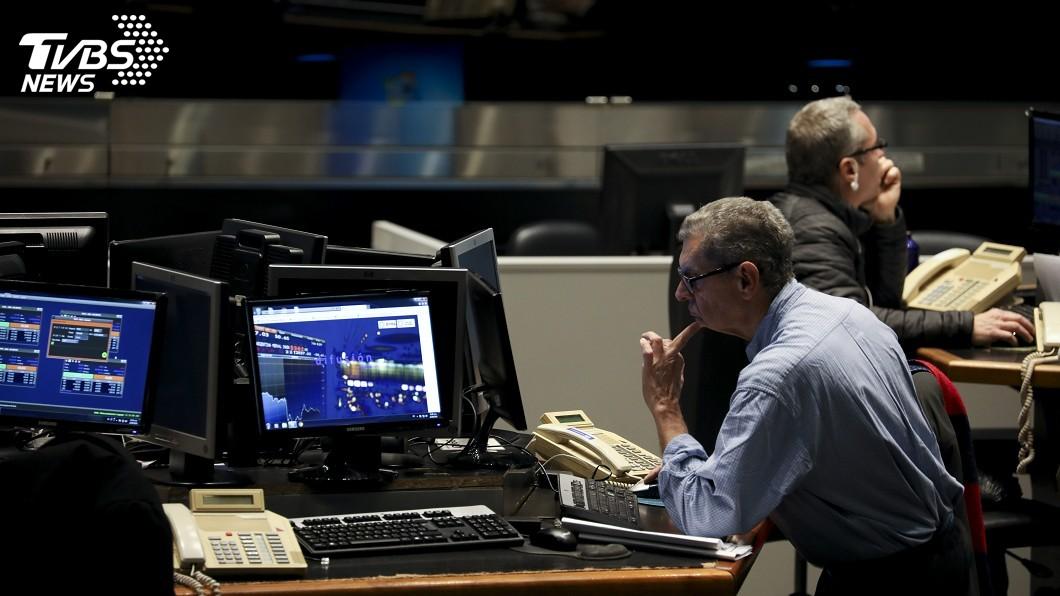圖/達志影像美聯社 貿易戰憂慮難消 美股賣壓再現道瓊跌近390點