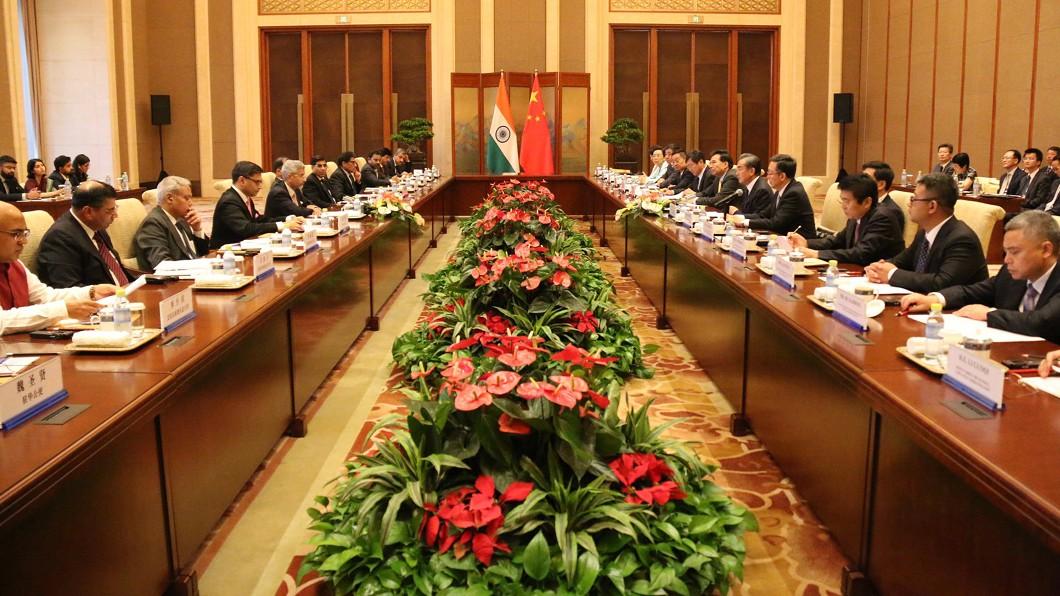 圖/印度外交部提供 中印外長會談 聚焦克什米爾與拉達克問題