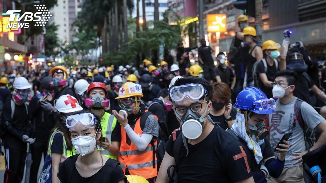 圖/中央社 快訊/認定港警過度使用武力 UN籲港府速調查