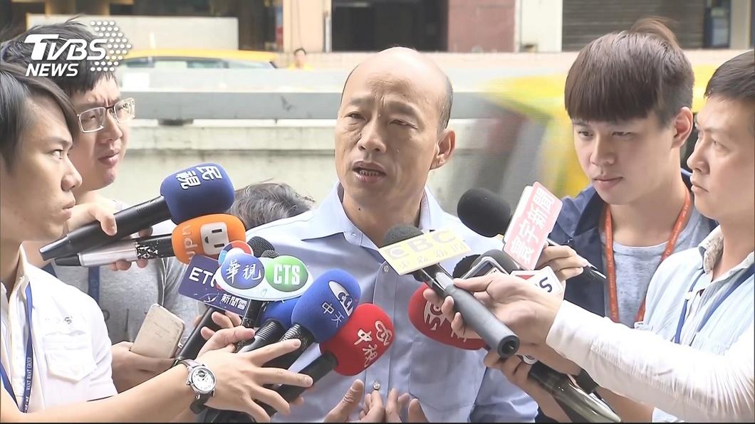 圖/TVBS資料照 韓國瑜稱「上任後沒打過麻將」 林智鴻PO照酸:說謊?