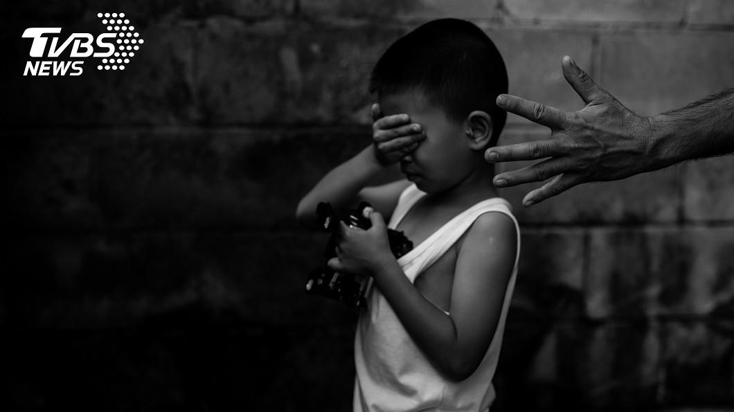 示意圖,非當事人。圖/TVBS 9歲童離奇失蹤 「裸體」陳屍樓頂!嫌犯竟是熟人