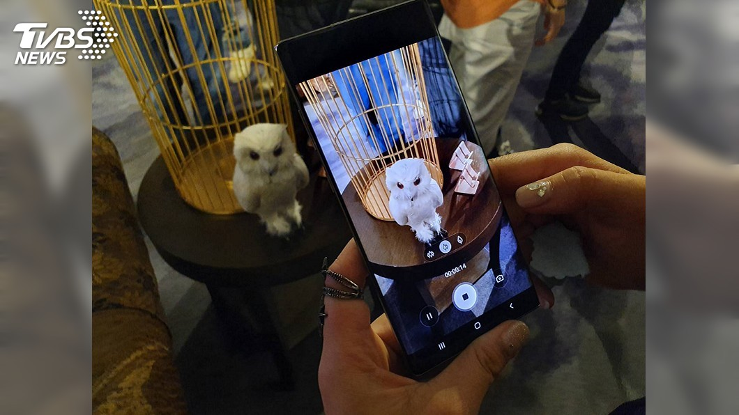 圖/中央社 三星Note 10將開賣 拚整體銷售比前一代增20%