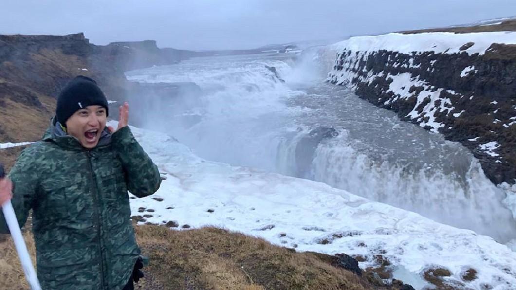 Eason到冰島錄節目。圖/翻攝Eason黃尹宣臉書