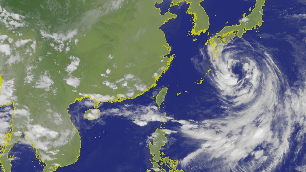 南台灣降下豪大雨。圖/翻攝自氣象局 大雨狂炸南台灣! 專家:雨勢恐再增強