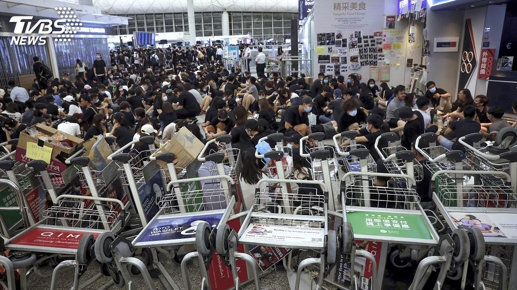 圖/達志影像美聯社 香港抗爭激烈 歐盟籲採取緊急措施