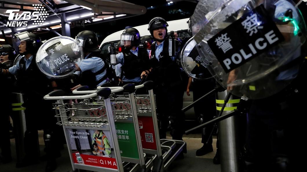 圖/達志影像路透社 中國如出兵香港 德智庫:西方制裁能力有限