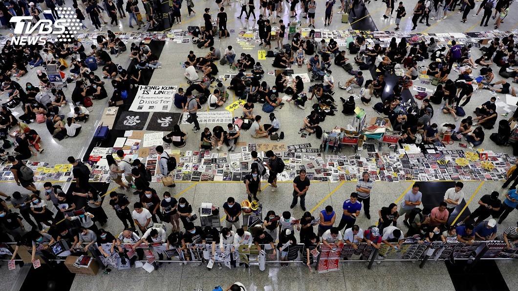 圖/達志影像路透社 香港政治危機加深 中國拒絕兩艘美國軍艦訪港