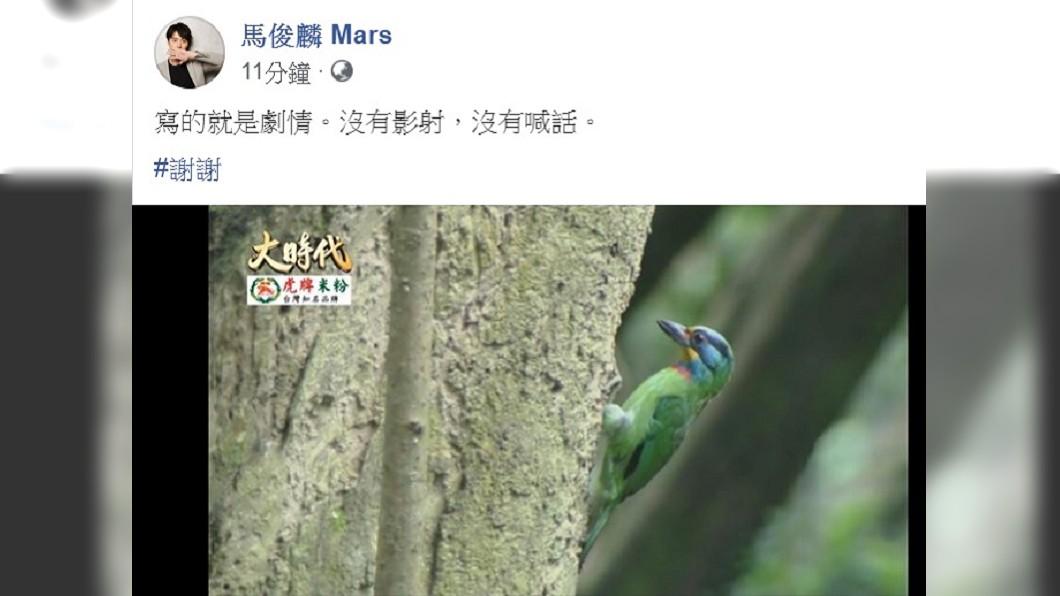 圖/翻攝自馬俊麟臉書