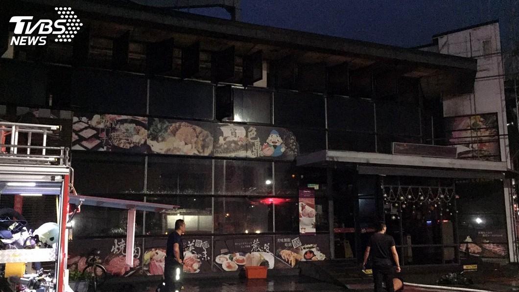 圖/中央社 嘉市燒烤餐廳6年5次火災 籲業者落實防火管理