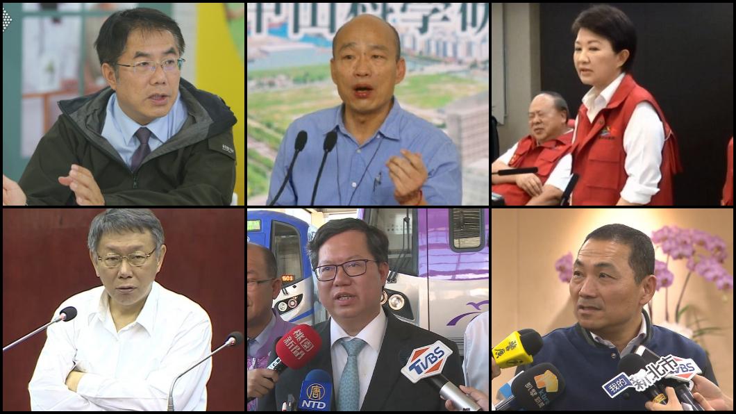 圖/TVBS資料照拼圖 「政治獻金」大公開!六都市長他是雙冠王 收1.33億