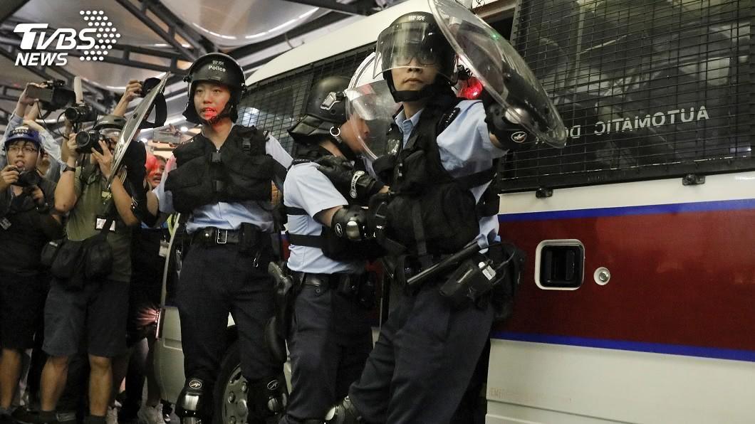 圖/達志影像美聯社 五百裝甲車集結深圳 攻入香港僅需十分鐘