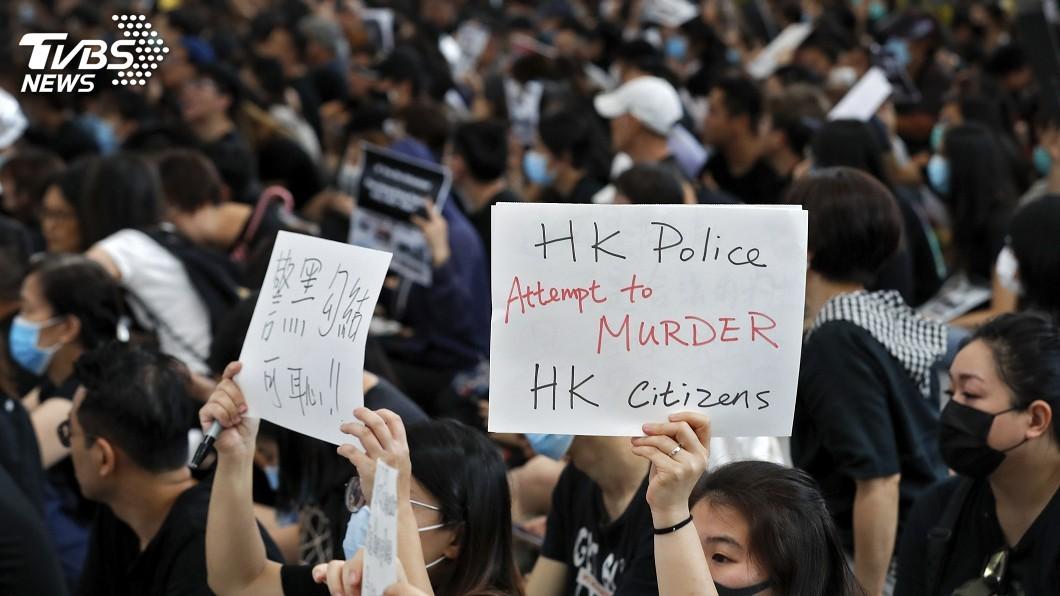 圖/達志影像美聯社 拿香港借鏡台灣 專家:北京不會貿然出兵