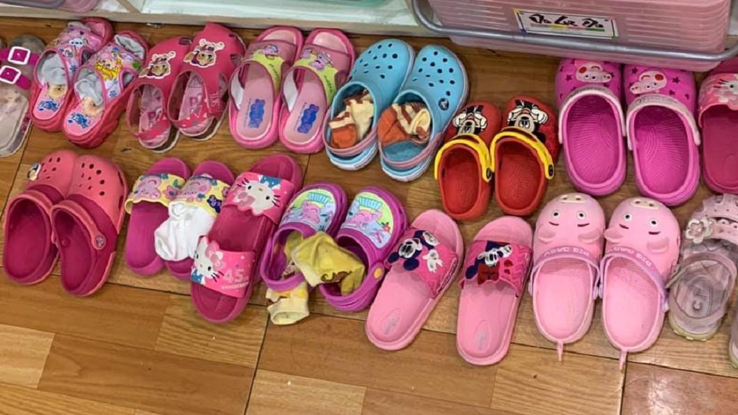 網友分享的童鞋。圖/翻攝自爆廢公社二館臉書