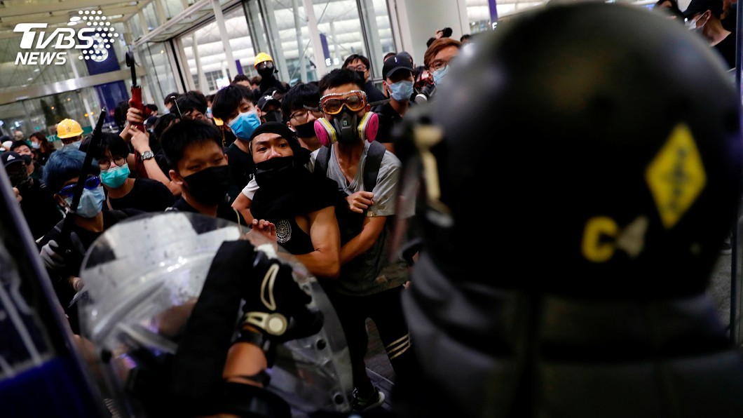 圖/達志影像路透社 美國發布旅遊警示 籲民眾赴香港多小心