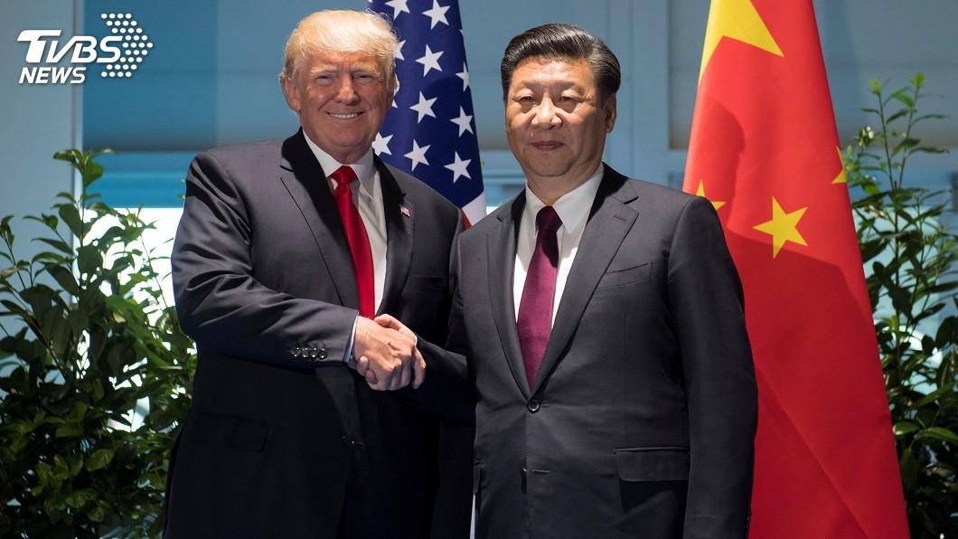 圖/達志影像路透社 川普提議會習近平 籲北京人道對待香港再談貿易