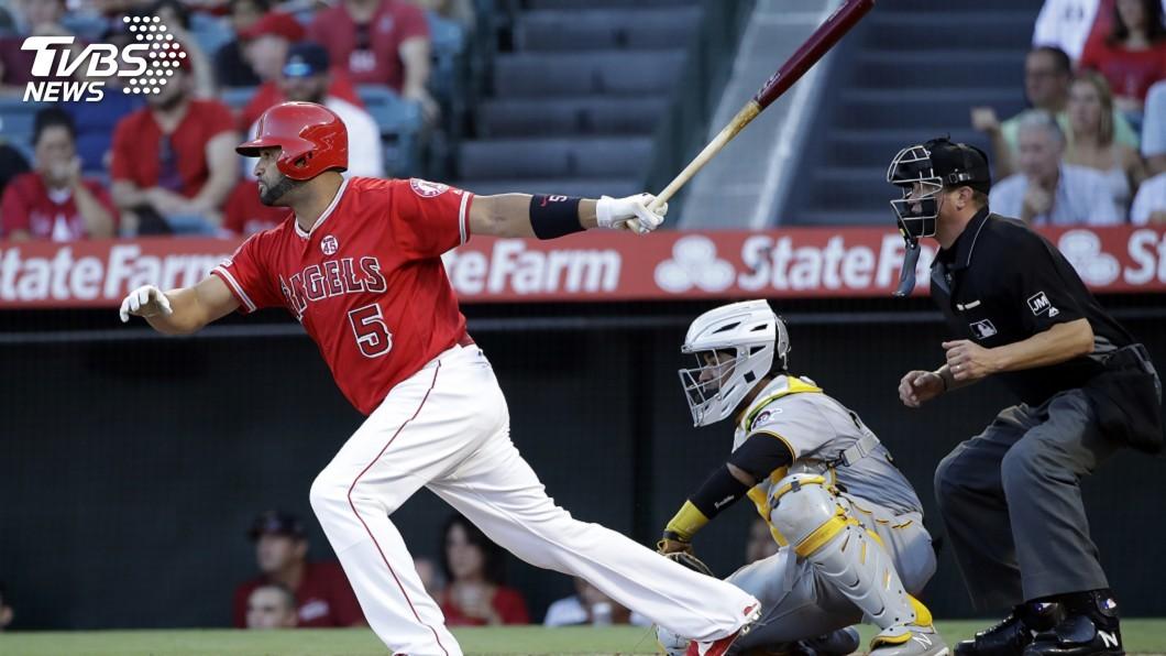 圖/達志影像美聯社 普侯斯單場兩安 締MLB外籍選手生涯安打新猷