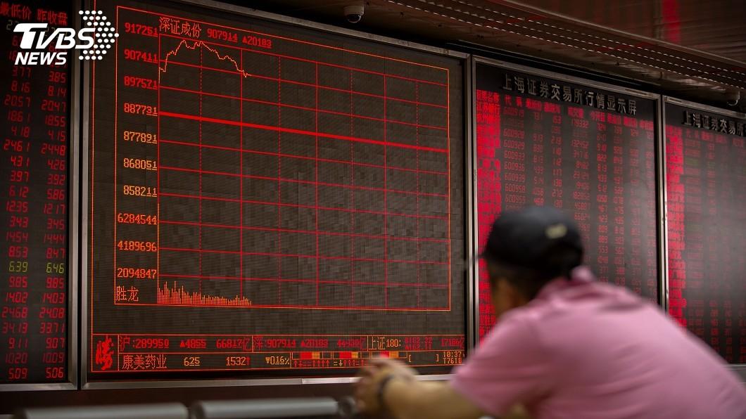 圖/達志影像美聯社 快訊/大陸將祭報復性關稅 美股狂瀉400多點