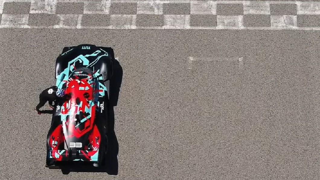 圖/翻攝自  Roborace youtube 無人賽車測試賽季開跑 AI大戰成新趨勢
