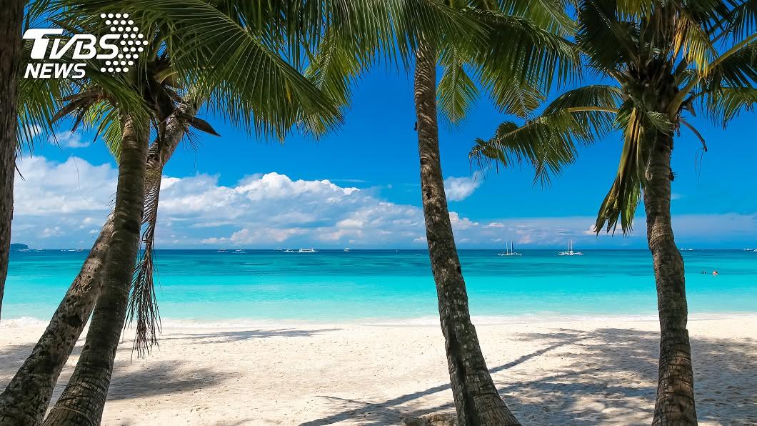 示意圖/TVBS 氣候變遷加劇 研究:2100年全球5成沙灘恐消失