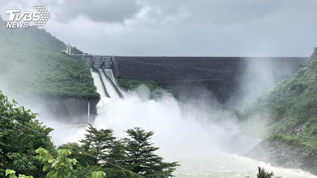 圖/中央社 台南山區大雨 南化關山預防性撤離16人