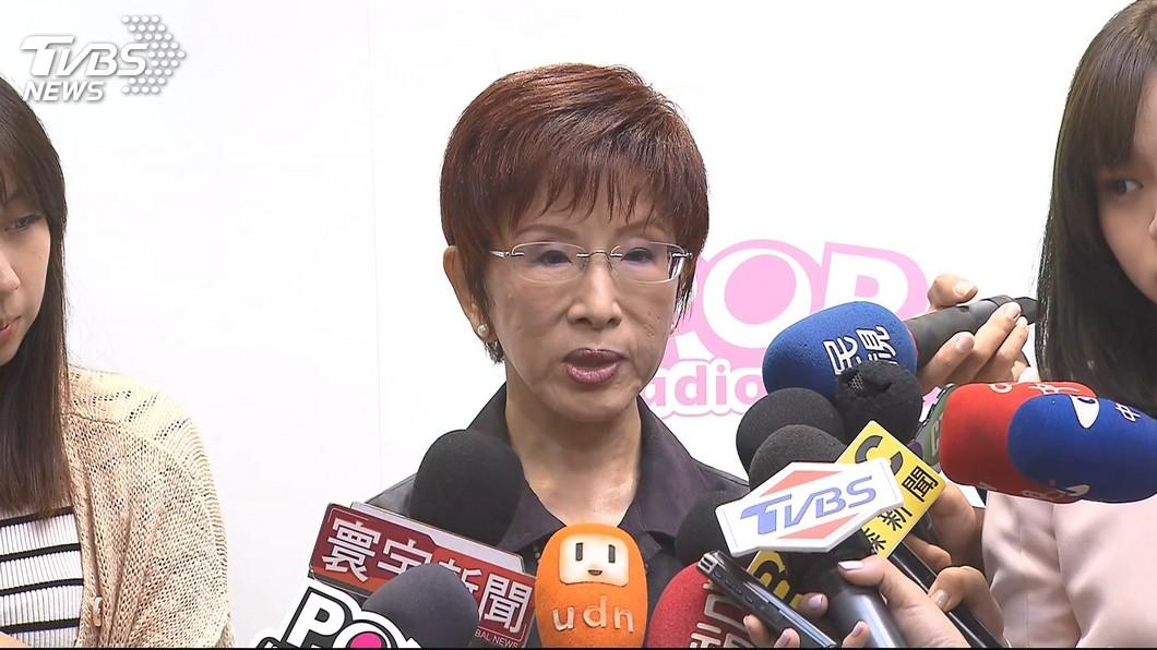 圖/TVBS 洪秀柱不提一中同表 國民黨可能徵召戰王定宇