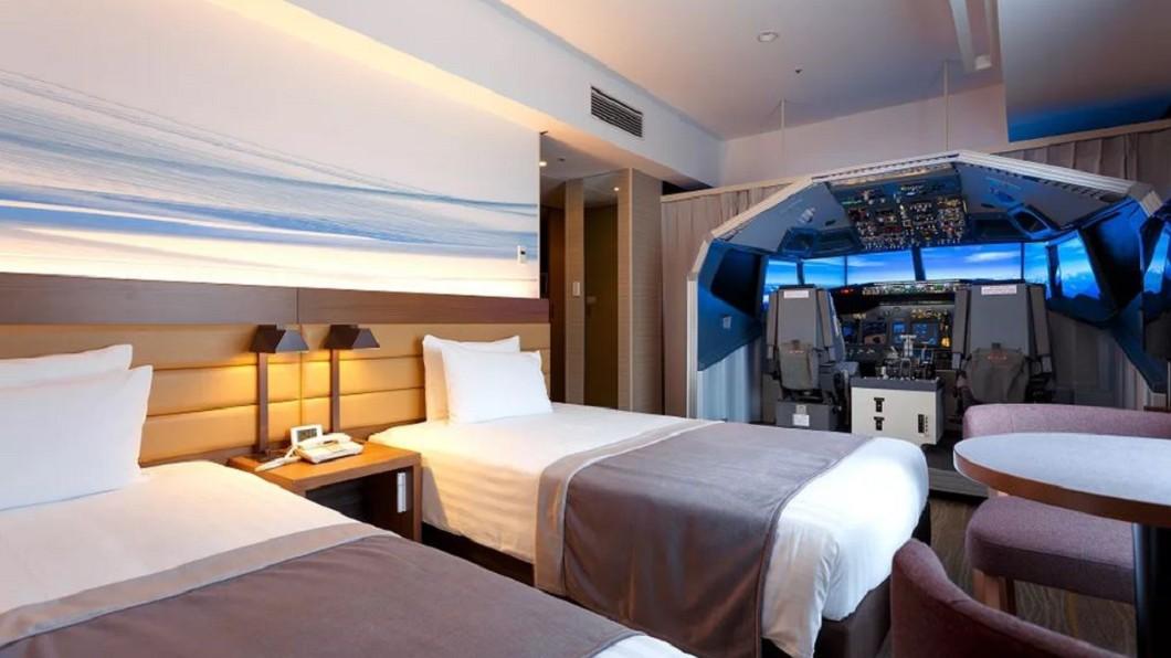圖/翻攝自The Verge 房間內有737駕駛艙! 機艙飯店鎖定航空迷