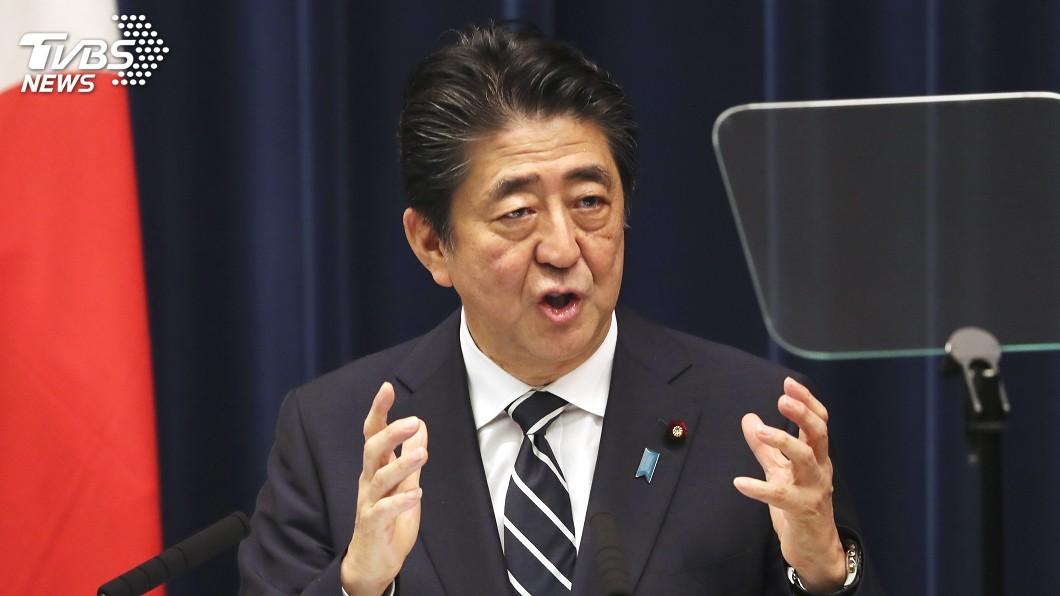 圖/達志影像美聯社 北韓再試射飛行物 安倍:未影響日本安全