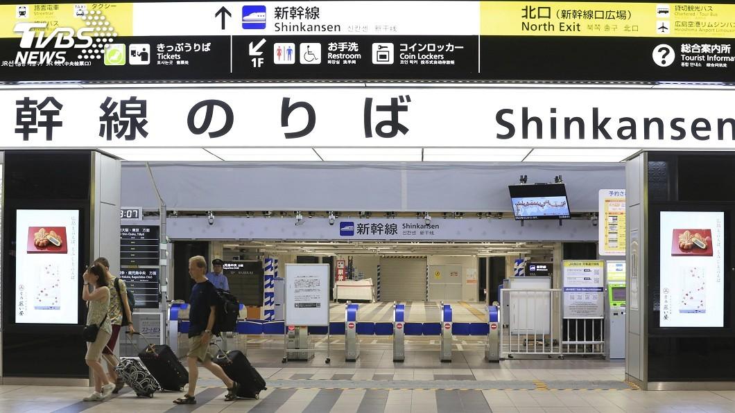 圖/達志影像美聯社 颱風柯羅莎襲日 西日本陸空交通陸續恢復