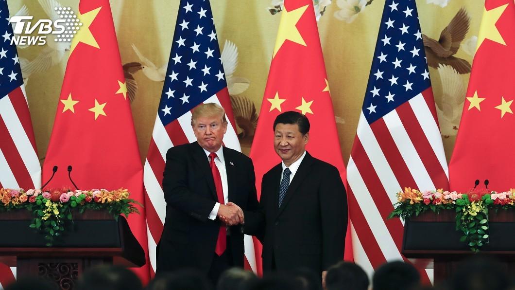 圖/達志影像美聯社 香港綁貿易戰 川普:盡快安排和習近平通話