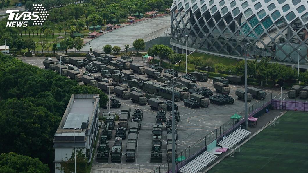 圖/達志影像美聯社 傳集結深港邊境 一次看懂中國武警