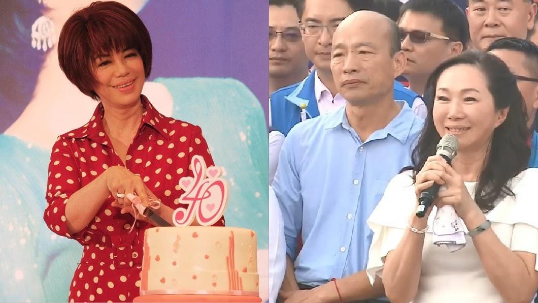 圖/中央社、TVBS 韓國瑜「被煎乾」 蔡琴狂虧李佳芬:妳要滋潤他!