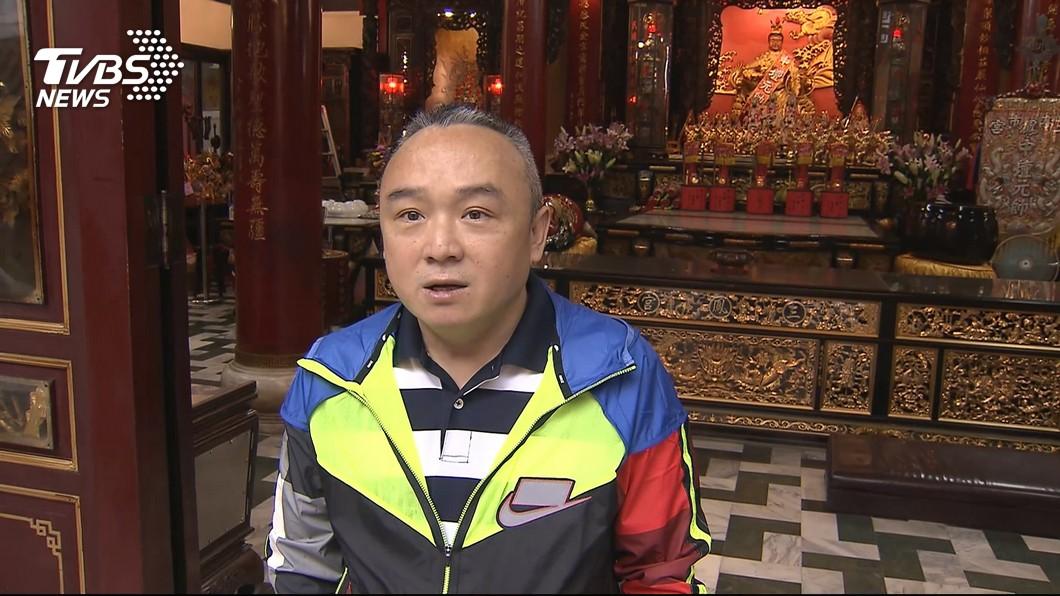 圖/TVBS 兩千萬遭夾攻 潘恒旭發誓:有洗錢不得好死