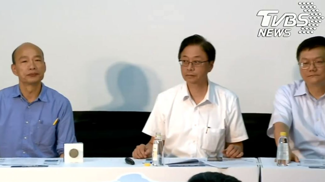 圖/TVBS 感謝美軍售 張善政:韓國瑜當然有身分發聲明