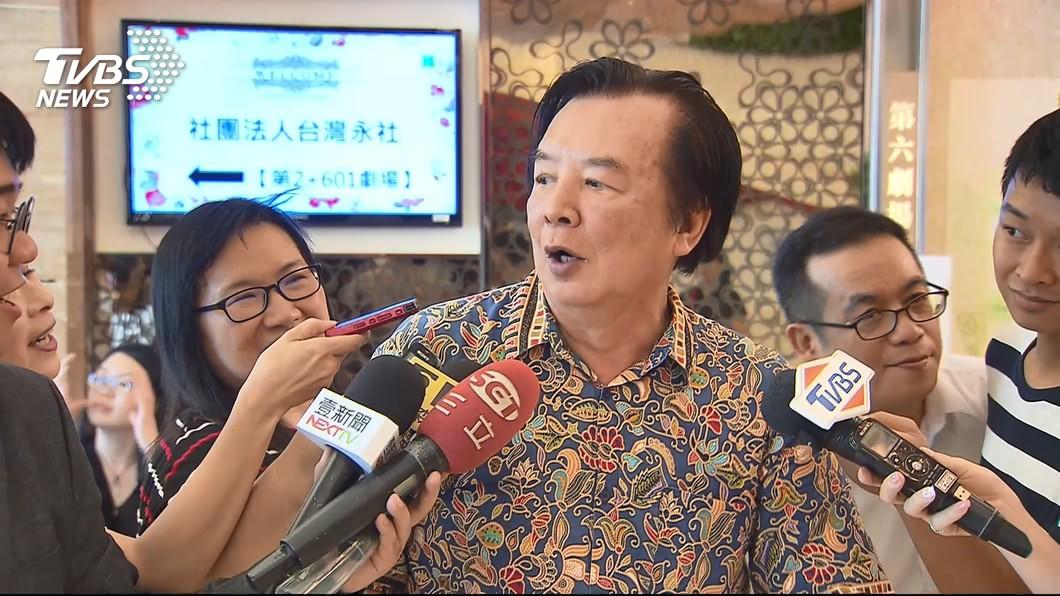 林志玲父親林繁男昨(17日)出席活動。圖/TVBS
