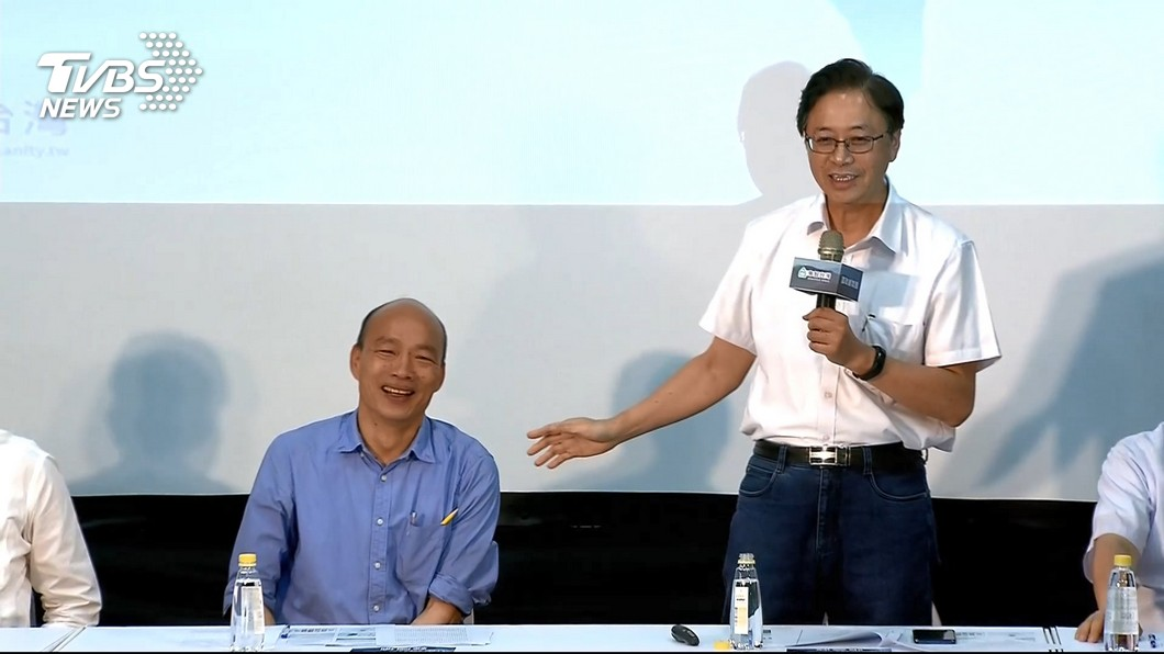 圖/TVBS 韓國瑜週一宣布副手 張善政呼之欲出