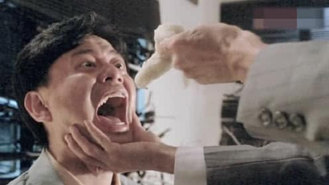 許多網友看到照片,當下聯想到電影《摩登如來神掌》的天蠶蟲。(圖/翻攝自「臻麻的創意食驗室」臉書粉絲團)